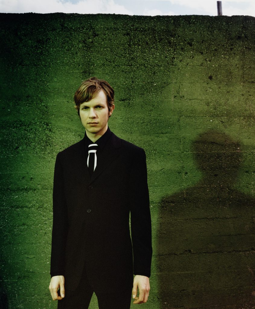 BECK musician portrait for the face magazine