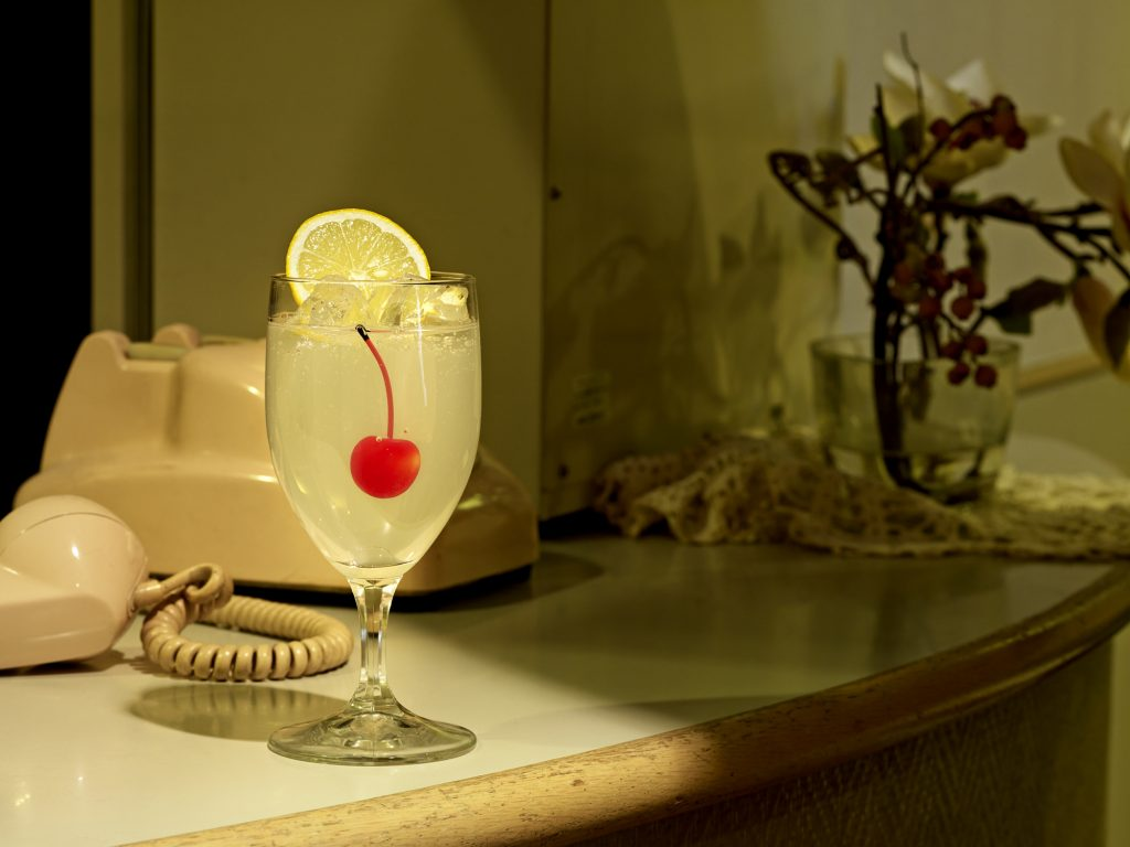 nearly eternal, plastic food, drink with cherry, norbert schoerner