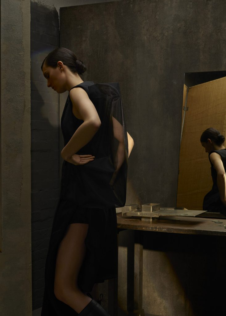 norbert schoerner, set design, mirror, fashion, jil sander,