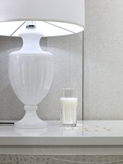 bedside table lamp, clinical white, nearly eternal, norbert schoerner