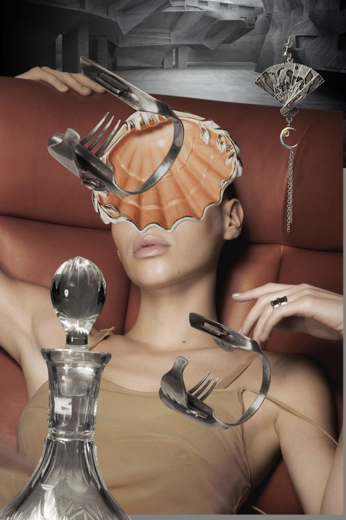 love magazine collage editorial norbert schoerner